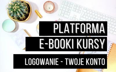 logowanie twoje konto platforma e-booki kursy